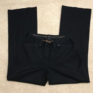 Editor black pants from Express